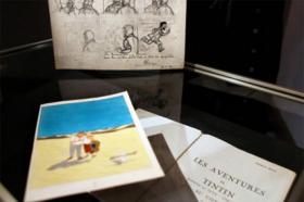 En bref> Un album de Tintin adjugé à 40 000$