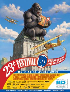 Événement >Le Festival de la bande dessinée francophone de Québec 2010