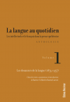 Vient de paraître > Karine Cellard : La langue au quotidien