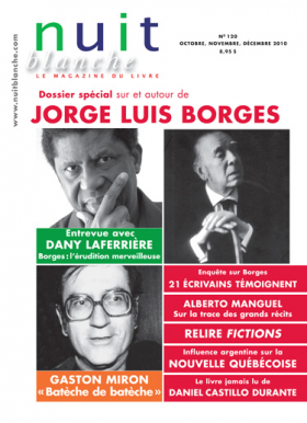 Vient de paraître > Nuit blanche spécial Jorge Luis Borges