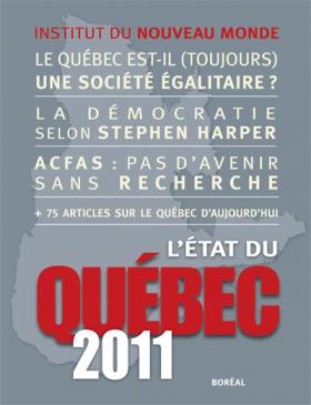 Vient de paraître > L'État du Québec 2011