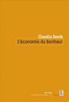 Vient de paraître > Claudia Senik : L'économie du bonheur