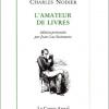 En lisant > Charles Nodier : L'Amateur de livres