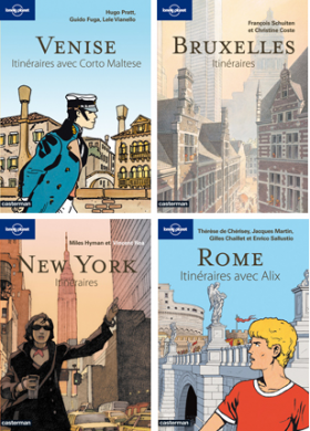 Collection 'Itinéraires' de Lonely Planet et Casterman