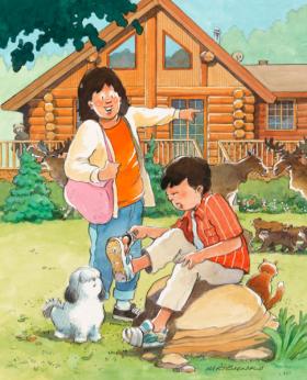Encan : Un original à la maison; L'art des livres jeunesse (16 octobre 2012, 18h)