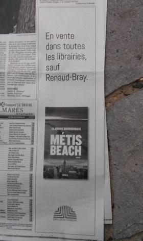 Les fausses informations de Renaud-Bray, la suite